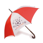 Regenschirm bedruckt mit jedem Motiv sehr gerne für Fussballtrainer
