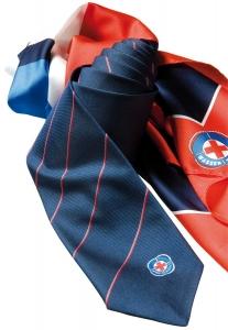Sonderanfertigung Tuch und Krawatte für Wasserwacht