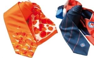 Digitaldruck Krawatte und Schal Set Rotes Kreuz Krawatte und Tuch